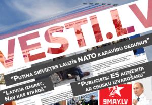 Kā Krievijas propaganda Baltijā pārtop vēl niknākās ziņās