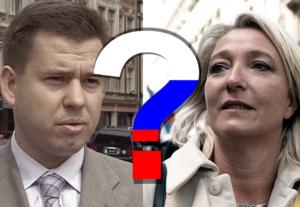 Dambiņu nosauc kā starpnieku Lepēnas partijas kredītu meklējumos Krievijā