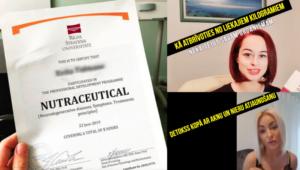 Stradiņa universitāte sola pārtraukt nutriciologu izglītošanu