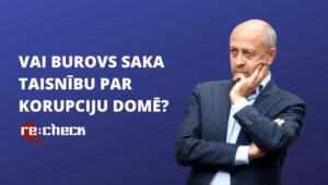 Burovs maldina – korupcijas skandāli domē nav tikai Saskaņas atbildība
