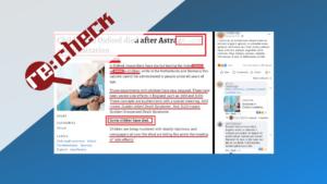 """""""AstraZeneca"""" vakcīnas pētījumos nav mirušu bērnu"""