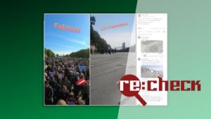 Panorāmā protestu dienā nav rādīta tukša 11.novembra krastmala